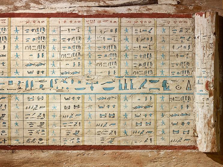 Le carte celesti degli Egizi servivano a navigare tra le stelle